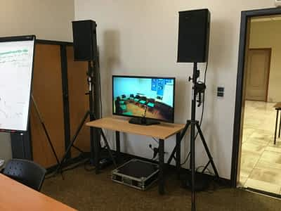 diffusion vidéo captation son réunion meeting séminaire ametzondo cci bayonne