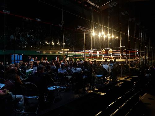 gala de boxe trinquet moderne Bayonne captation sonore et diffusion