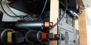 micro HF sennheiser matrice MTX Yamaha installation intégration DCI event