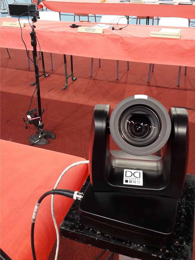 caméra ptz tourelle robot streaming direct