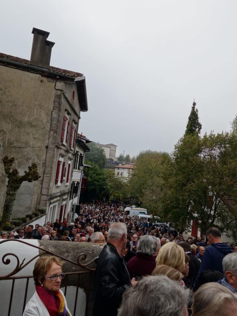 Messe de la fête du piment - Espelette - 2016