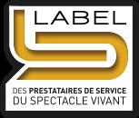 DCI event label prestataire de service du spectacle vivant 952