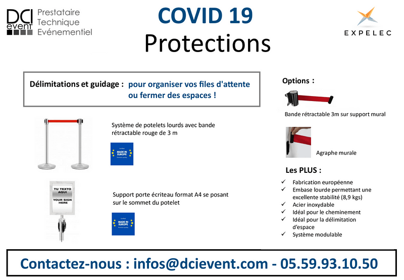 Guide pour file d'attente DCI event