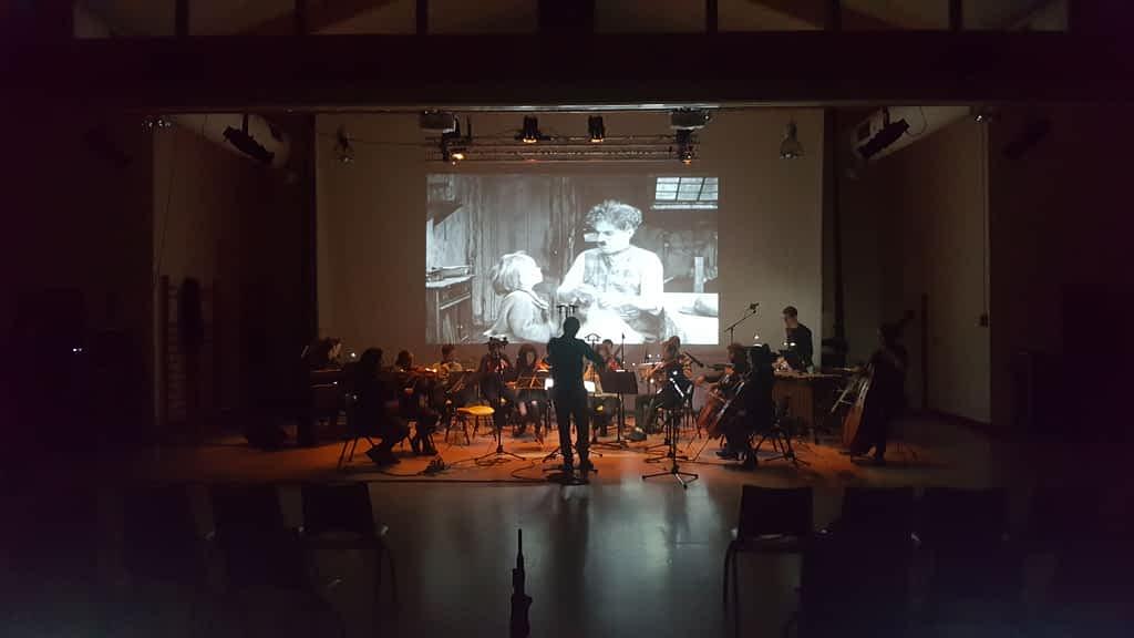 orchestre Bilbao live ciné-concert Baigorry