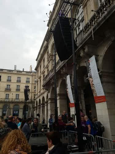LA10-3V Beyma manifestation seaska mairie bayonne discours
